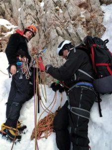 Ορειβασία μέσου επιπέδου με βαρύ εξοπλισμό