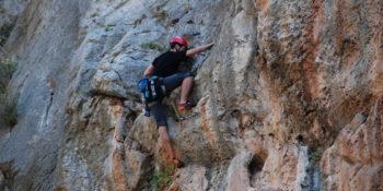 Αναρρίχηση βράχου αρχαρίων