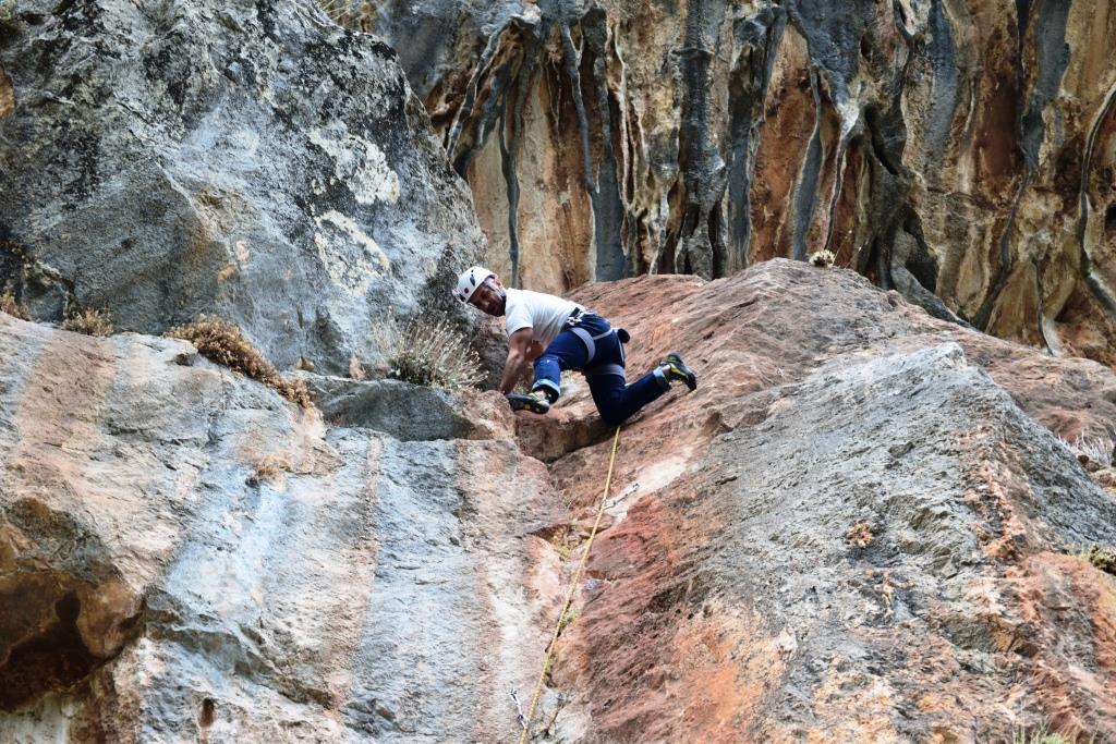 Η ανάβαση σε ένα βουνό σίγουρα απαιτεί καλή φυσική κατάσταση και ευλυγισία