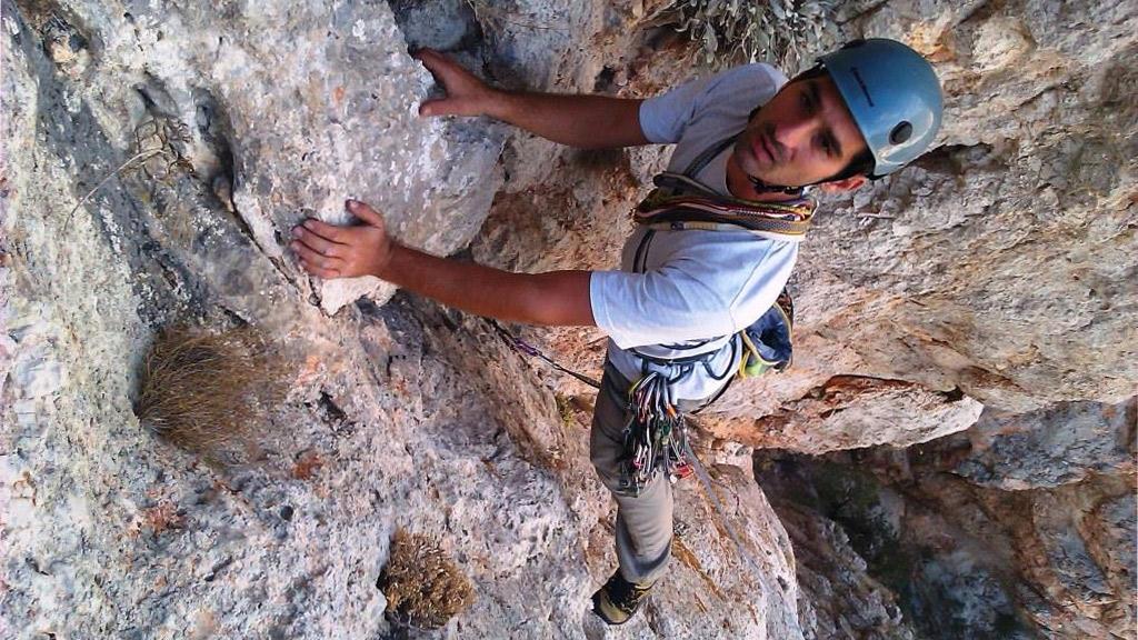 Αναρρίχηση βράχου μέσου επιπέδου | Ε.Ο.Σ. Αθηνών