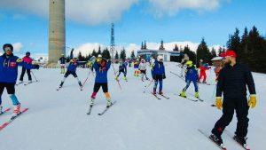 Χαρούμενοι σκιέρς κατά την ολοκλήρωση του 2ου camp προετοιμασίας του Ε.Ο.Σ. Αθηνών στην Αυστρία