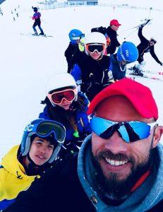 Όλη η παρέα στο 3ο Camp της χιονοδρομίας