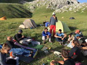 Κατασκηνωτές από το Camp Αλπικής Αναρρίχησης ΕΟΟΑ στη Γκιώνα 30/06 με 02/07/2017