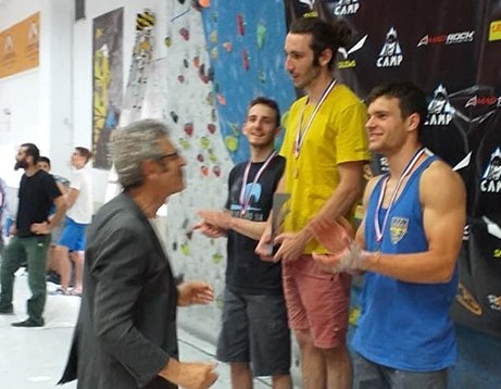 Πρώτος στο 30o Πανελλήνιο Πρωτάθλημα Αγωνιστικής Αναρρίχησης  ο ΕΟΣ Αθηνών!